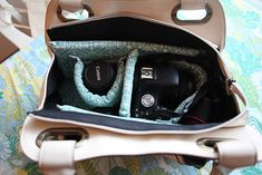 Turn A Purse Into A Stylish Camera Bag