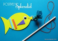 Magnet fish craft/game.