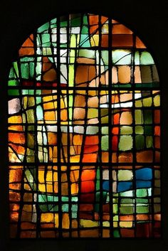 Epic Firetruck's Stained Glass ~ #StainedGlassAbstract