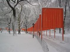 The Gates, Central Park- Christo and Jeanne Clause