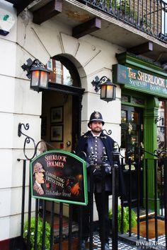 Sherlock Holmes Museum, Baker Street, London, England