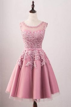 112 Mejores Imágenes De Vestidos Color Rosa Vestidos De