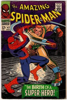 Amazing Spider-Man # 42 , November 1966 , Marvel Comics Vol 1 1963 tumblr_niys30j6tF1rn55nzo1_540.jpg (540×803)