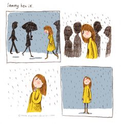 Comics by Marloes de Vries Inspired by a Dutch song from 1966, by Ramses Shaffy: http://youtu.be/17kkL6JTdxw
