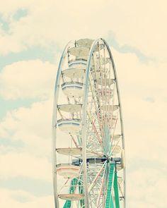 Ferris wheel vintage.