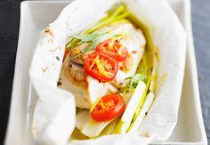 Papillote de blanc de poulet aux poireauxVoir la recette de la Papillote de blanc de poulet aux poireaux >>