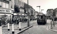 High Street winter 1966