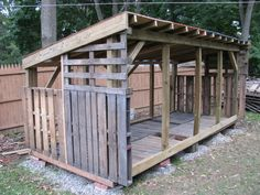 here's another pallet shed, more like ours which is going to be 16x12 Photo by Badfish740 | Photobucket