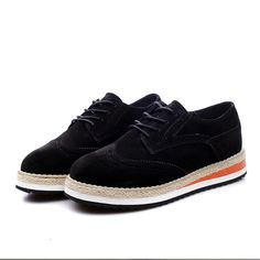 Moda das Mulheres de Alta Qualidade Apartamentos Sapatos de Plataforma Novo 2016 Retro Sapatos Oxford para As Mulheres Brogues Trepadeiras Couro De Porco N223 em Apartamentos das mulheres de Sapatos no AliExpress.com | Alibaba Group