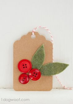 Holly Sprigs Tags