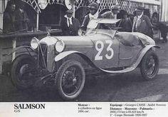 LE MANS 1927 Salmson GS  #23
