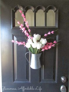 Glamorous, Affordable Life: Bringing Spring to the Door!