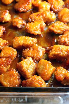 This Baked Sweet and Sour Chicken is a homemade, healthier version of your favorite Chinese takeout dish. The sweet and sour sauce is made with ingredients you probably already have, making this flavorful dish easy to make. Baked Sweet And Sour Chicken Recipe, Sweet And Sour Recipes, Chicken Wing Recipes, Chicken Balls, Sour Foods, Pulled Pork Recipes, The Best, Cooking Recipes, Baking