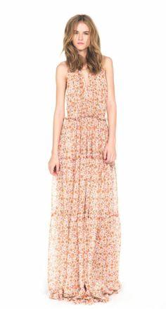 The Boho Dress by Derek Lam + eBay as seen on Rachel Bilson