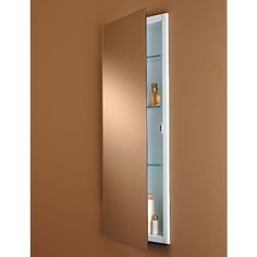 Broan-Nutone Low Profile 15W x 36H in. Medicine Cabinet 663BC by Lighthouse Distribution Corp. $142.99