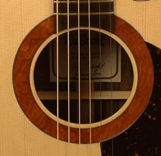 Osthoff Guitars Redwood Burl rosette