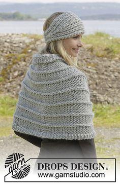 Ravelry: 156-30 Raquel Shoulder Piece pattern by DROPS design