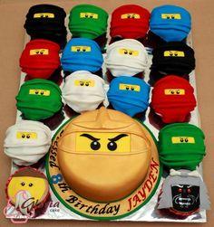 Ninjago Cakes and Cupcakes