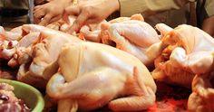 Tak Ikut Aksi Mogok, Pedagang Ayam di Pasar Muktisari Banjar Sepi Pembeli