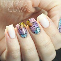 Copycat Claws: Leadlighting with Esmaltes da Kelly Soft Soap Bubbles