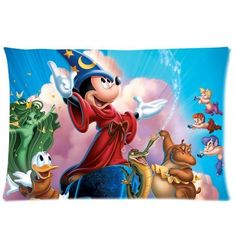 Cartoon Mickey Mouse Pillowcase Standard Size 20x30 Cotton Pillow Case Cover by Generic -- Startling review available here  : DIY : Do It Yourself Today