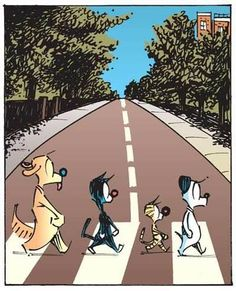 Abbey Road Mutts