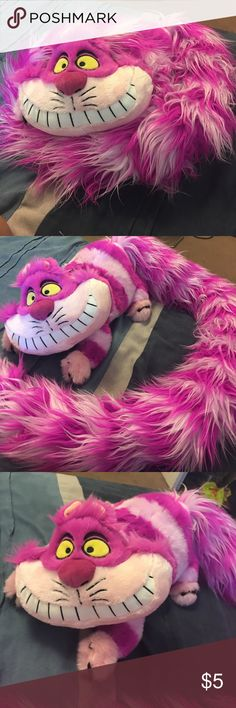 Alice in wonderland cat Cashemere alice in wonderland cat stuffed animal pink. New, no tags Other