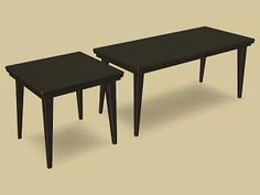 Mod The Sims - Oaktowne East Side Dining Tables