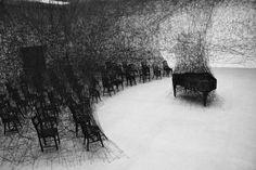 CJWHO ™ (Installations by Chiharu Shiota Chiharu Shiota...)