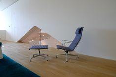 VitraHaus | by stéphane68 #Eames Aluminum Group Lounge Chair + Ottoman