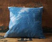 enhabiten pillows indigo
