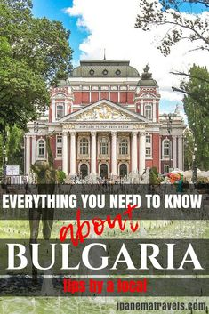 Traveling to Bulgaria and panicking because you don't know anything about Bulgaria. Read here 25 essential tips to prepare for your trip to Bulgaria so that you can enjoy your stay in Bulgaria. #bulgaria #visitbulgaria #bulgariatravel #traveltips #travel #traveleurope #europe #europevacay