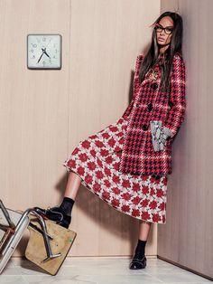 Mis Queridas Fashionistas: Joan Smalls : Vogue México September 2015 (Back to Fall & Color Splash)