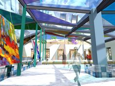 Escuela abierta de artes urbanas  proy. de titulo. Fair Grounds, Fun, Travel, Urban Art, Spaces, School, Architecture, Places, Viajes