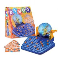 Buy Toyrific Bingo Game - Blue securely online today at a great price. Toyrific Bingo Game - Blue available today at TopsToys. Bingo Tickets, Bingo Games, Fun Games, Games For Kids, Card Games, Press Your Luck, Lotto Games, Traditional Games, Infancy