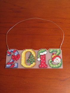 New 2013 Christmas Cross Stitch Ornament by ChresStitchCreations, $7.00