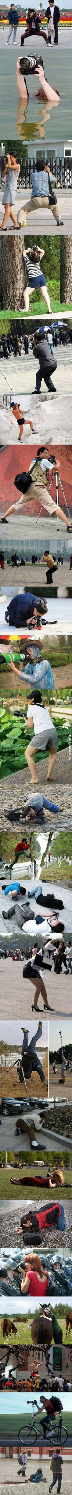 In the name of photography.