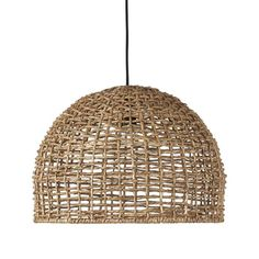 PR Home Taklampa Cebu 37 cm - Natur - Taklampor - Ellos. Ceiling Lamp, Lamp, Bulb, Woven Shades, Pendant Lamp, Ceiling, Pendant Light, Light, Basket Lighting