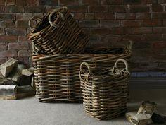 Natural Rattan Basket