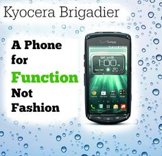 Kyocera Brigadier – A Phone for Function, Not Fashion  http://www.wonderoftech.com/kyocera-brigadier/  Discover a phone that's practically indestructible and filled with functional features.