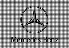 Mercedes-Benz Logo Crochet Pattern Bundesliga Logo, Mercedes Benz Logo, Care Logo, Crochet Dolls, Crochet Projects, Crochet Patterns, Cross Stitch, Logos, Playground