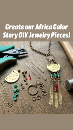 Copper Jewelry, Wire Jewelry, Boho Jewelry, Jewelry Crafts, Jewelry Art, Beaded Jewelry, Jewelery, Jewelry Design, Diy Boho Earrings