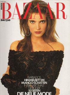 Stephanie Seymour - Harper's Bazaar Germany Aug 1988