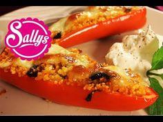 Spitzpaprika gefüllt mit Couscous aus dem Ofen / mediterran / vegetarisch / auch vegan möglich! - YouTube