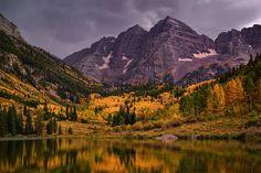 Maroon Bells, Colorado - Ed Cooley Fine Art Photography