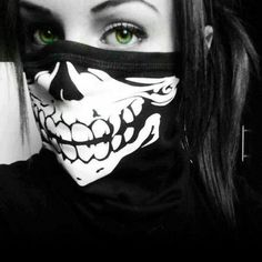 Pics For > Skull Bandana Girl Photo Poses, Girl Photos, Girls Dp, Cute Girls, Bad Girls, Rauch Tapete, Estilo Harajuku, Gangster Girl, Mask Girl
