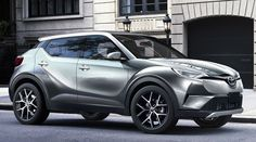 2017 Toyota C-HR - side official