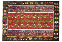 Anatolian Turkish Kilim, 47 x 33 on OneKingsLane.com