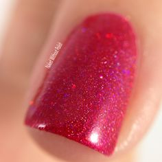 Macro of Seventy Seven Nail Lacquer I Wanna Be Dirty from Magic 8 Box @seventy7lacquer