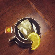 Foglie di thè verde e limone! Che chiedere di più?